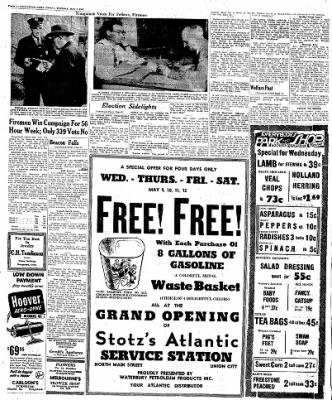 Naugatuck Daily News from Naugatuck, Connecticut on May 8, 1951 · Page 2