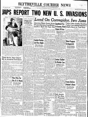 The Courier News from Blytheville, Arkansas on February 17, 1945 · Page 1