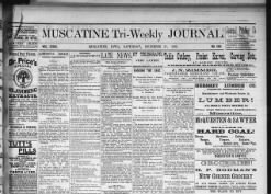 Muscatine Tri-Weekly Journal