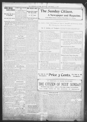 The Brooklyn Citizen from Brooklyn, New York on September 3, 1898 · 3