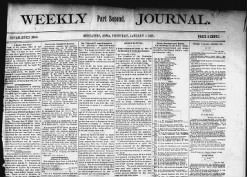 Muscatine Weekly Journal