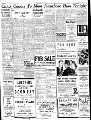 The Courier News from Blytheville, Arkansas on February 20, 1945 · Page 6