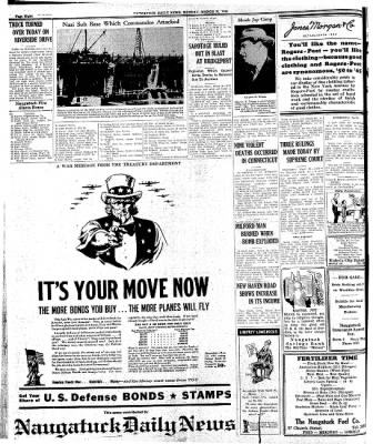 Naugatuck Daily News from Naugatuck, Connecticut on March 30, 1942 · Page 8