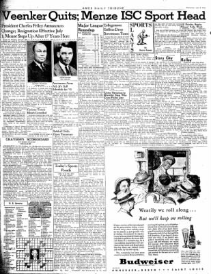 Ames Daily Tribune from Ames, Iowa on June 6, 1945 · Page 6