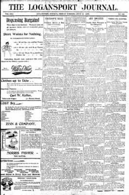 Logansport Pharos-Tribune from Logansport, Indiana on July 31, 1896 · Page 1