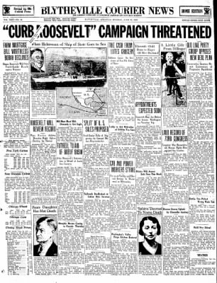 The Courier News from Blytheville, Arkansas on June 26, 1934 · Page 1