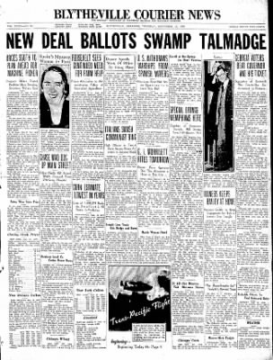 The Courier News from Blytheville, Arkansas on September 10, 1936 · Page 1