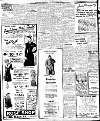 Naugatuck Daily News from Naugatuck, Connecticut on April 1, 1942 · Page 4
