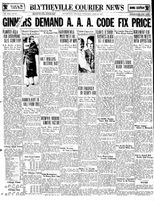 The Courier News from Blytheville, Arkansas on June 27, 1934 · Page 1