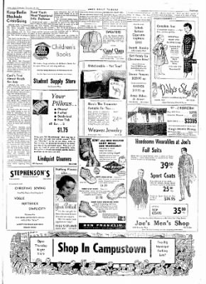Ames Daily Tribune from Ames, Iowa on November 19, 1958 · Page 7