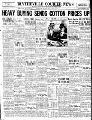 The Courier News from Blytheville, Arkansas on June 26, 1931 · Page 1