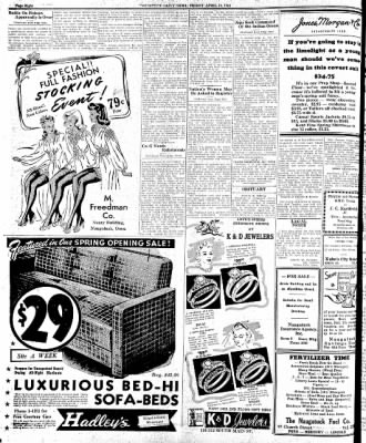 Naugatuck Daily News from Naugatuck, Connecticut on April 10, 1942 · Page 4