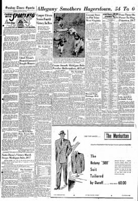 Cumberland Sunday Times from Cumberland, Maryland on October 10, 1948 · Page 25