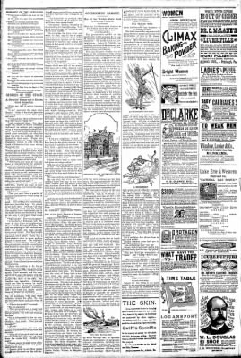 Logansport Pharos-Tribune from Logansport, Indiana on April 25, 1891 · Page 6