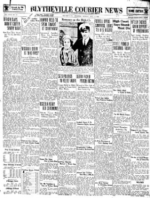 The Courier News from Blytheville, Arkansas on July 2, 1934 · Page 1