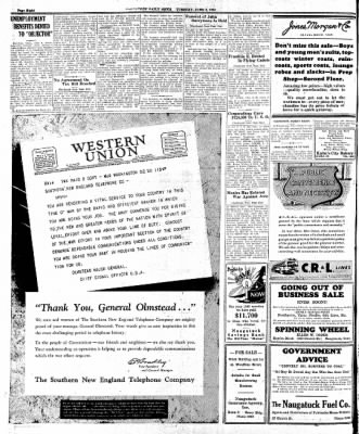 Naugatuck Daily News from Naugatuck, Connecticut on June 2, 1942 · Page 6
