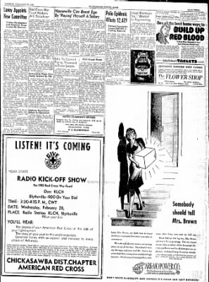 The Courier News from Blytheville, Arkansas on February 27, 1945 · Page 3