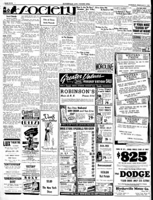 The Courier News from Blytheville, Arkansas on February 6, 1941 · Page 4