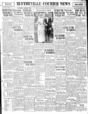 The Courier News from Blytheville, Arkansas on June 27, 1931 · Page 1