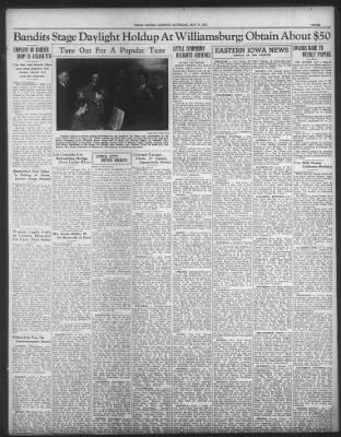 The Gazette from Cedar Rapids, Iowa on May 8, 1937 · 3