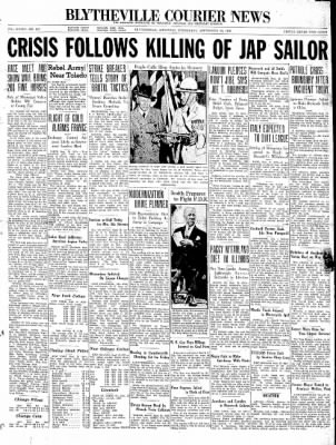 The Courier News from Blytheville, Arkansas on September 23, 1936 · Page 1