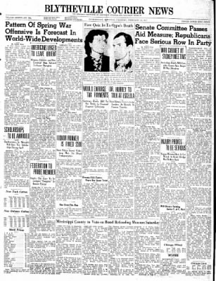 The Courier News from Blytheville, Arkansas on February 13, 1941 · Page 1