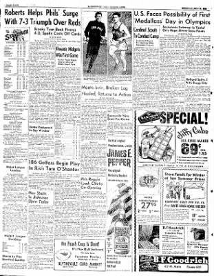 The Courier News from Blytheville, Arkansas on July 31, 1952 · Page 8