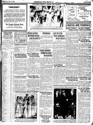 Lebanon Daily News from Lebanon, Pennsylvania on April 22, 1932 · Page 15