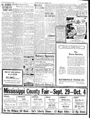 The Courier News from Blytheville, Arkansas on September 25, 1936 · Page 3