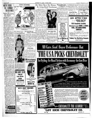 The Courier News from Blytheville, Arkansas on February 17, 1941 · Page 8