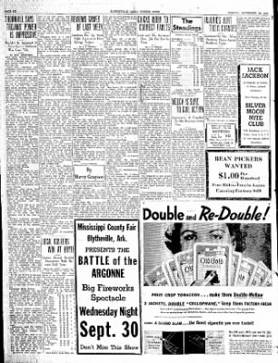 The Courier News from Blytheville, Arkansas on September 28, 1936 · Page 6
