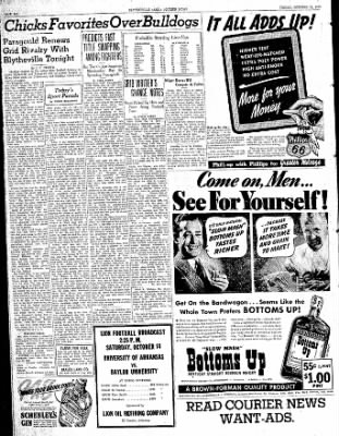 The Courier News from Blytheville, Arkansas on October 13, 1939 · Page 6