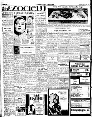 The Courier News from Blytheville, Arkansas on July 20, 1934 · Page 2