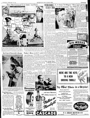 The Courier News from Blytheville, Arkansas on February 20, 1941 · Page 7