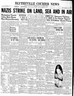The Courier News from Blytheville, Arkansas on October 17, 1939 · Page 1