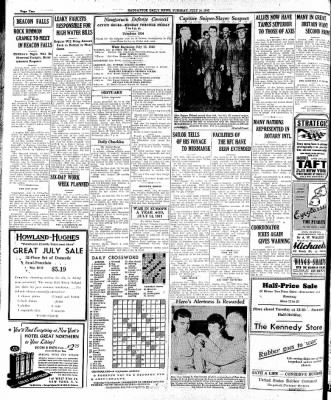 Naugatuck Daily News from Naugatuck, Connecticut on July 14, 1942 · Page 2