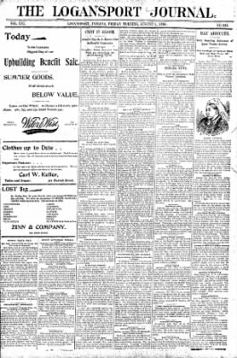 Logansport Pharos-Tribune from Logansport, Indiana on August 1, 1896 · Page 1