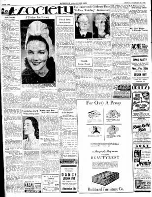 The Courier News from Blytheville, Arkansas on February 24, 1941 · Page 2