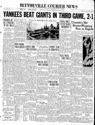 The Courier News from Blytheville, Arkansas on October 3, 1936 · Page 1