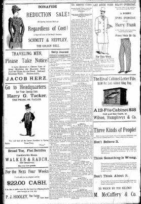 Logansport Pharos-Tribune from Logansport, Indiana on April 29, 1891 · Page 8