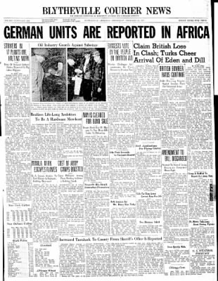 The Courier News from Blytheville, Arkansas on February 26, 1941 · Page 1