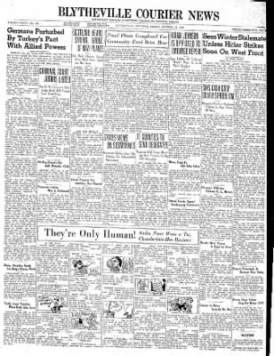 The Courier News from Blytheville, Arkansas on October 20, 1939 · Page 1