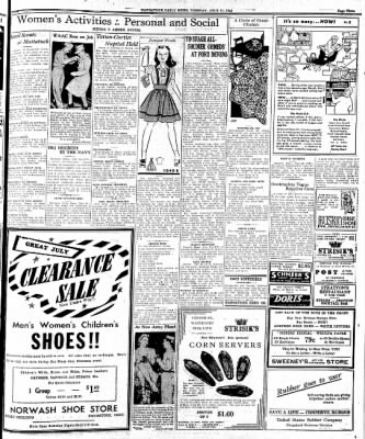 Naugatuck Daily News from Naugatuck, Connecticut on July 21, 1942 · Page 1