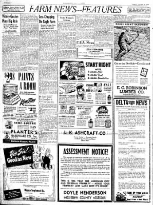The Courier News from Blytheville, Arkansas on March 16, 1945 · Page 6