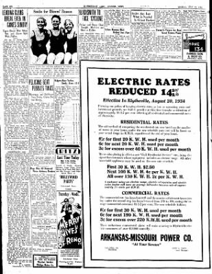 The Courier News from Blytheville, Arkansas on July 30, 1934 · Page 6
