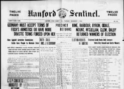 Hanford Kings County Sentinel