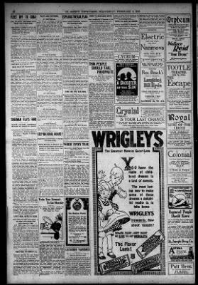 St. Joseph News-Press from St. Joseph, Missouri on February 5, 1919 · 10
