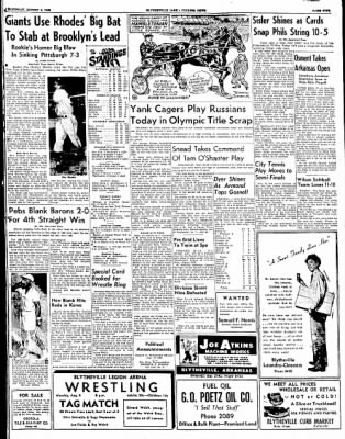 The Courier News from Blytheville, Arkansas on August 2, 1952 · Page 5