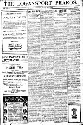Logansport Pharos-Tribune from Logansport, Indiana on January 4, 1898 · Page 17