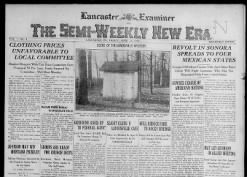 Lancaster Examiner and The Semi-Weekly New Era